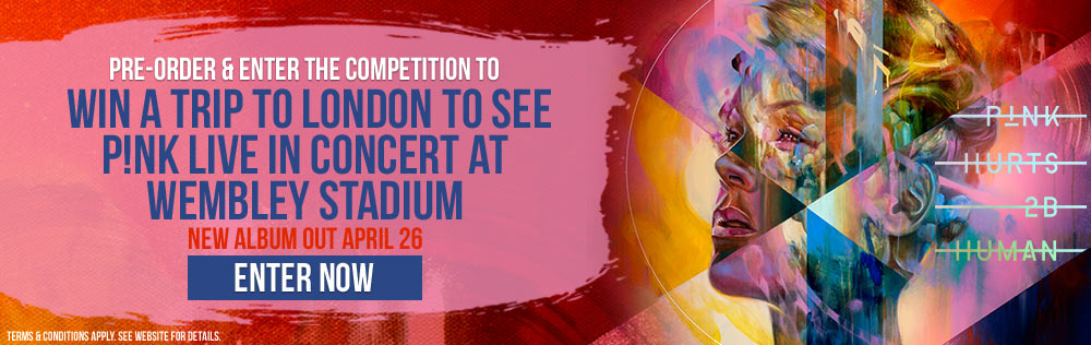 Win A Trip To See Pink Live At Wembley Stadium