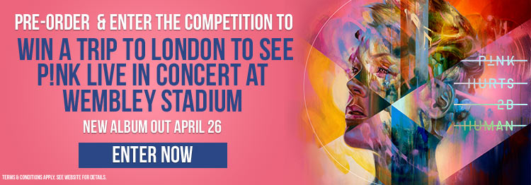See P!nk Live In Concert At Wembley Stadium!