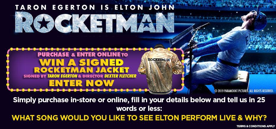 Win A Signed Rocketman Jacket