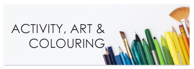 Shop All Activity, Art & Colouring Books