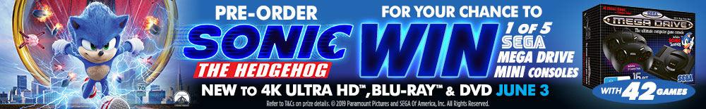 Win 1 of 5 Sega Mega Drive Mini Consoles