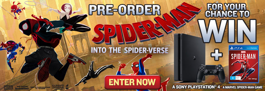 Enter For Your Chance To Win A PS4 & Spiderman Game