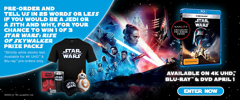 Pre-order & Click Here To Enter Star Wars Competition