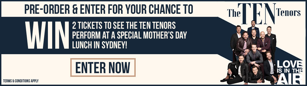 Win 2 Tickets To See The Ten Tenors