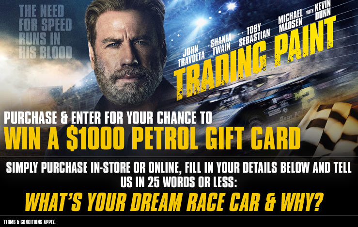 Win A $1000 Petrol Gift Card