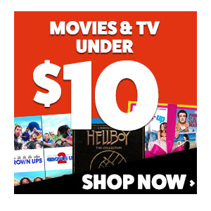 Buy Movies & TV Shows Under $10