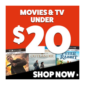 Buy Movies & TV Shows Under $20