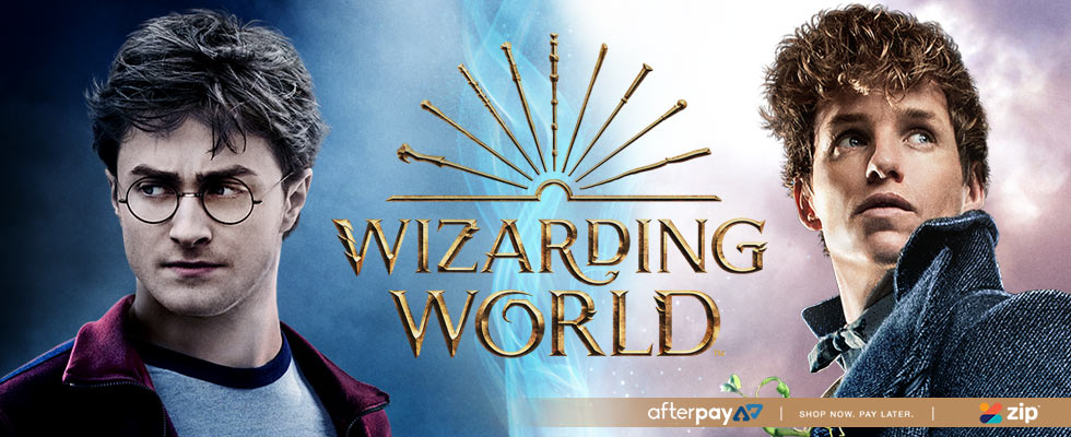 Check out our huge Wizarding World Range of Harry Potter & Fantastic Beasts!