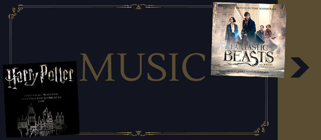 Shop Harry Potter & Fantastic Beasts Music CD range