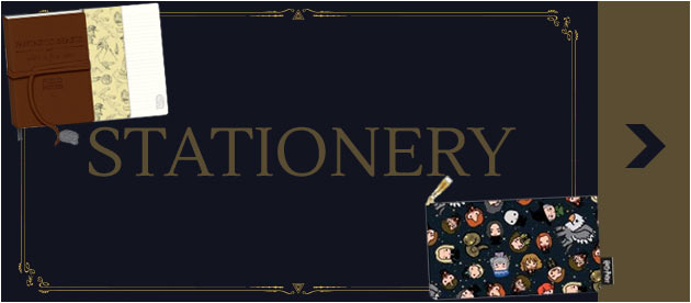 Shop Wizarding World Stationery - themed as your favourite Harry Potter & Fantastic Beasts Characters!
